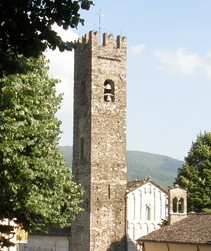 The church at San Cassiano di Controne